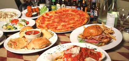 Dinner Menu at Bella's Italian Restaurant
