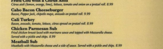 Lunch and Dinner Menus from Bella's Italian Pizza Place in Banner Elk